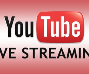 Youtube-livestreaming 2016