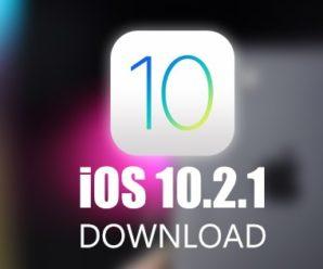 Apple iOS Cupertino rilascia l'update 10.2.1