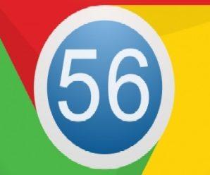 Chrome 56 la nuova versione del Browser di Google