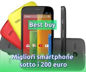 Qual è il miglior smartphone sotto i 200 euro