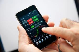 trading da smartphone